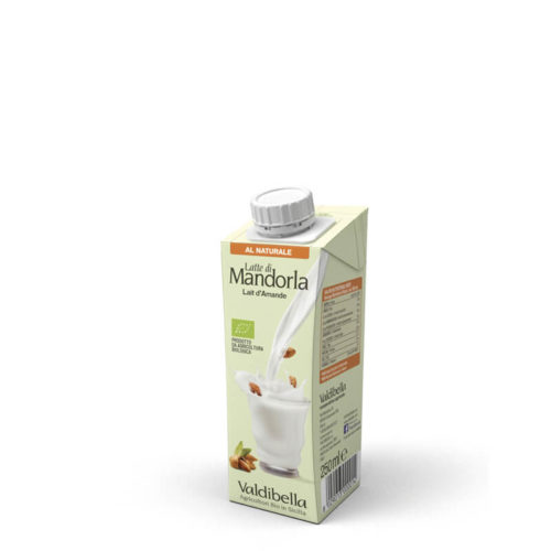Latte Di Mandorla Al Naturale (250ml)