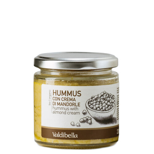 Hummus With Almond Cream